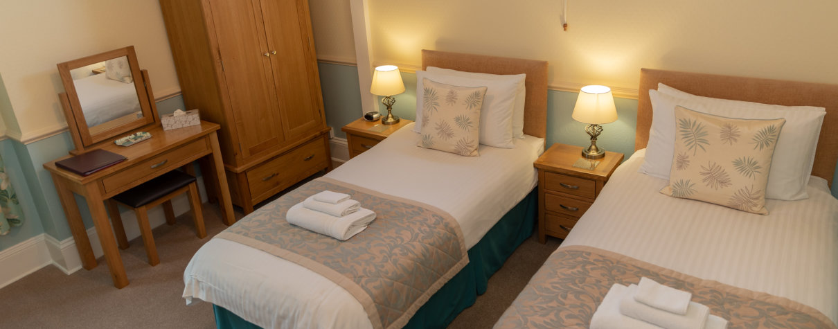 We Offer Stylish, Comfortable Bedrooms, Some With Spectacular Sea Views.Learn About Us